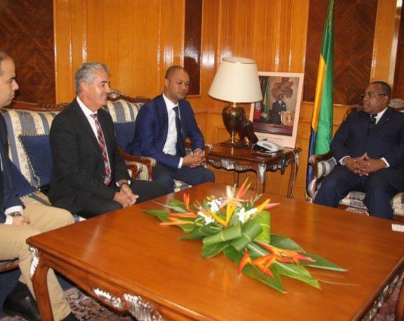 Les dirigeants de Vivo Energy chez le Premier ministre
