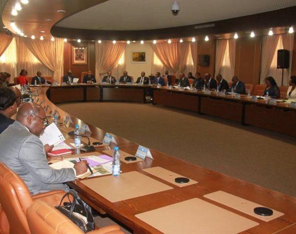 Les membres du gouvernement gabonais