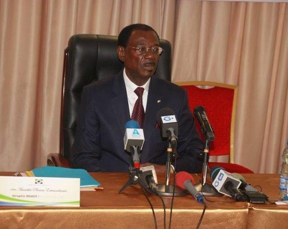 Séraphin Ndaot Rembogo, président du CND