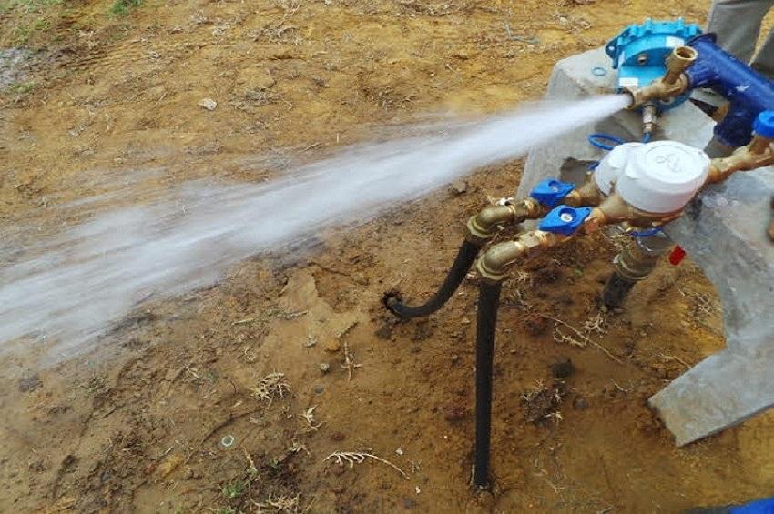 coupure d'eau à Libreville