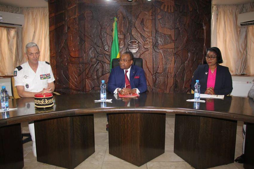 Coopération militaire entre le Gabon et la France