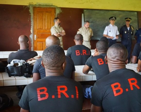 Formation de policiers gabonais (Crédits Ambassade de France)