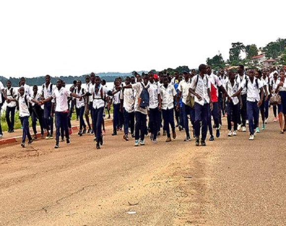 Grogne des élèves au Gabon