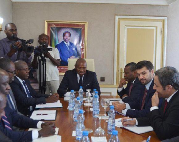La délégation du FMI à Libreville