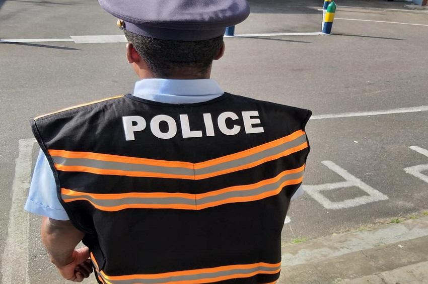Le gilet de police