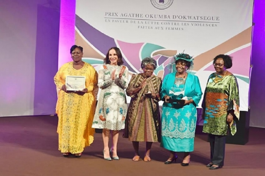 Les femmes honorées par la Fondation Sylvia Bongo Ondimba