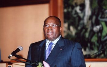 Martin Mabala, président du groupe parlementaire PDG