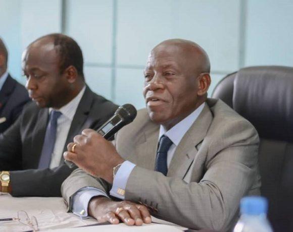 Michel Menga M'Essone, ministre d'Etat