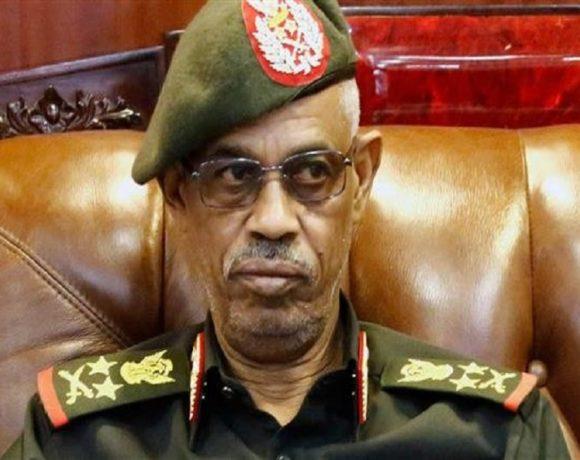 Un des militaires au commende au Soudan