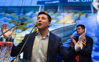 Volodymyr Zelensky, le nouveau président de l'Ukraine