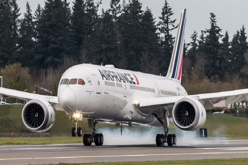 boeing dreamliner 787 d'air france