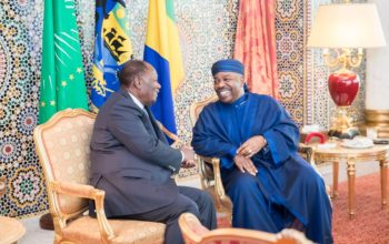 Alassane Ouattara chez Ali Bongo Ondimba