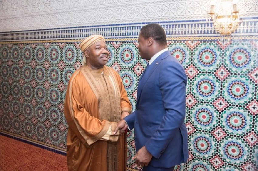 Ali Bongo Ondimba et Faure Gnassingbé