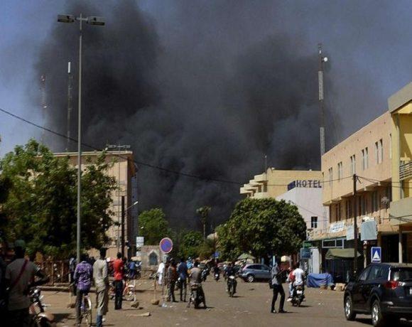 Attaque d'une église catholique au Burkina