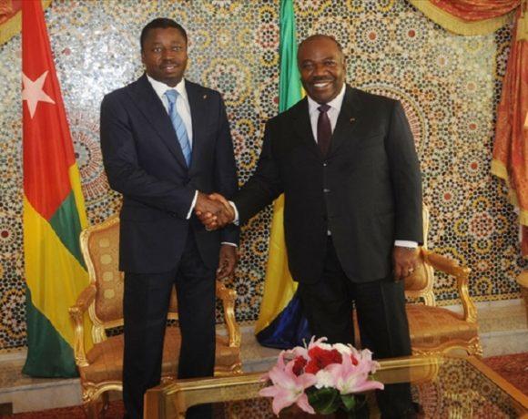 Faure Essozimna Gnassingbé et Ali Bongo Ondimba