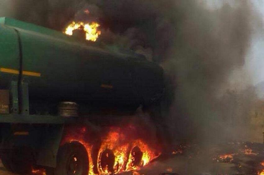 Explosion d'un camion citerne à Niamey
