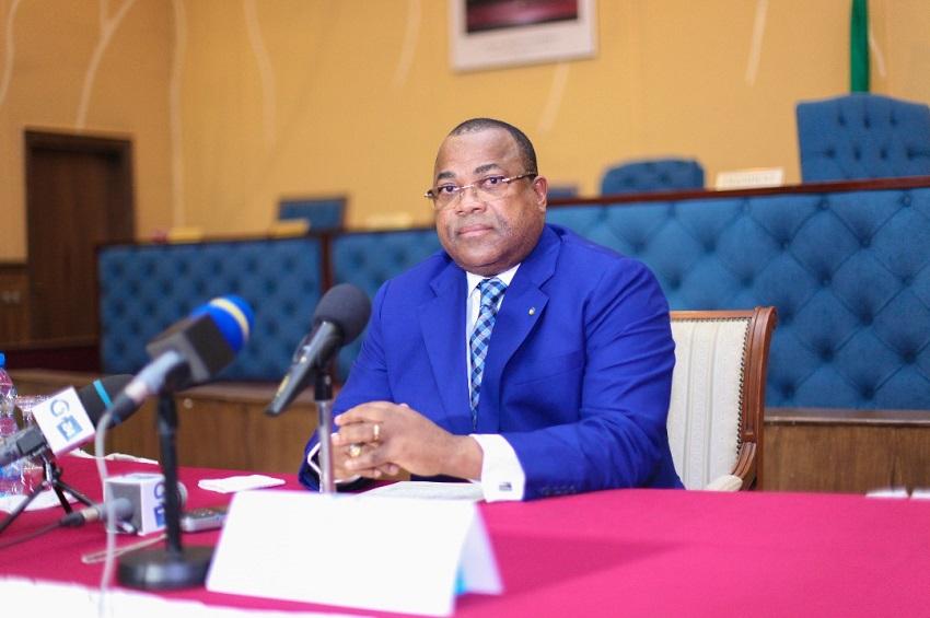 Julien Nkoghe Bekale au CESE
