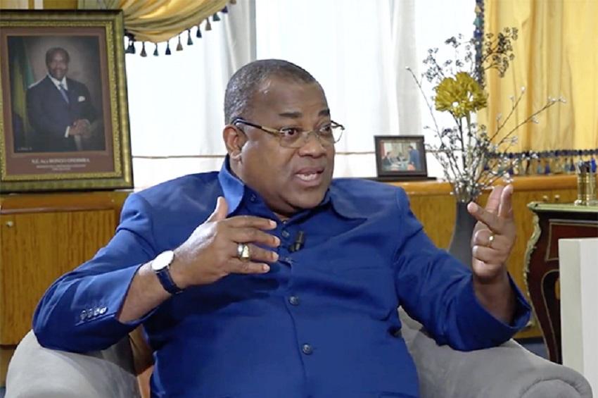 Julien Nkoghe Bekale sur Gabon 24