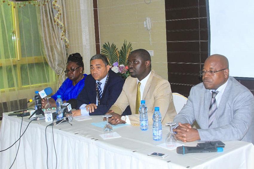Justin Ndoundangoye a présenté le rapport