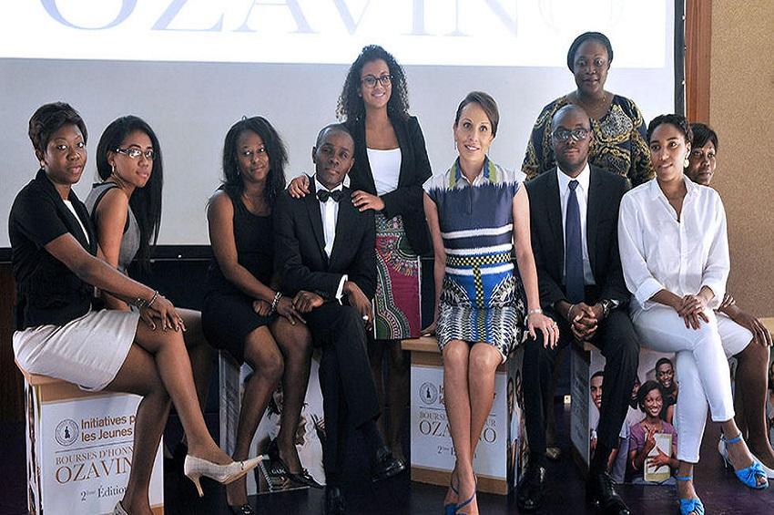 La bourse Azavino offerte par la fondation Sylvia Bongo Ondimba