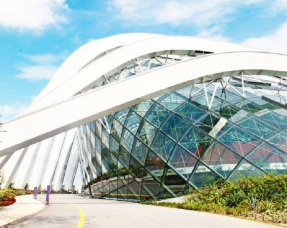 La maquette du nouvel aéroport de Libreville
