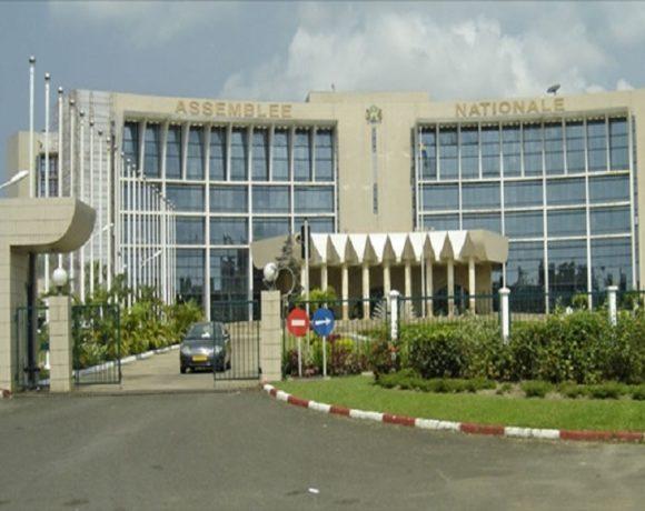 Le Palais Léon Mba, siège de l'assemblée nationale