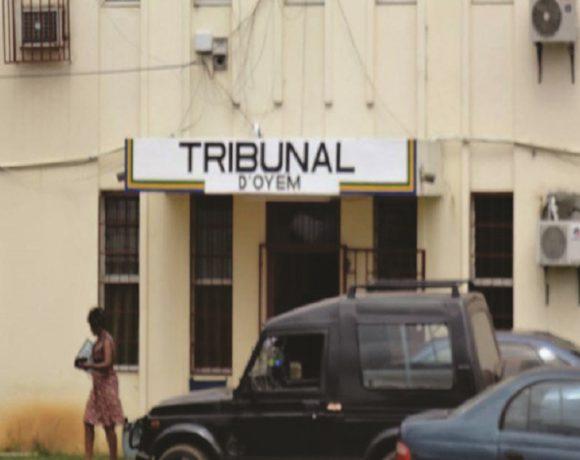 Le Palais de justice d'Oyem
