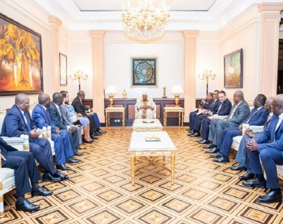 Le président Ali Bongo Ondimba a reçu les maires