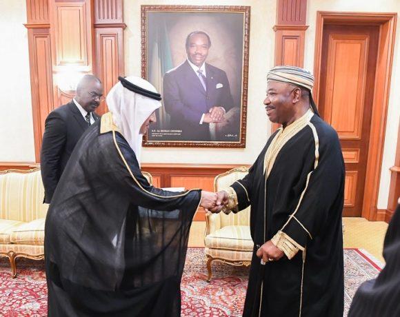 Le président Ali Bongo Ondimba reçoit l'Ambassadeur d'Arabie Saoudite