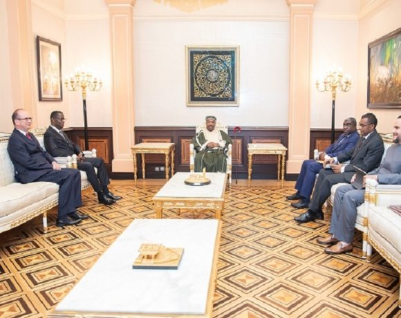Le président Ali Bongo Ondimba reçoit les doyens du corps diplomatique