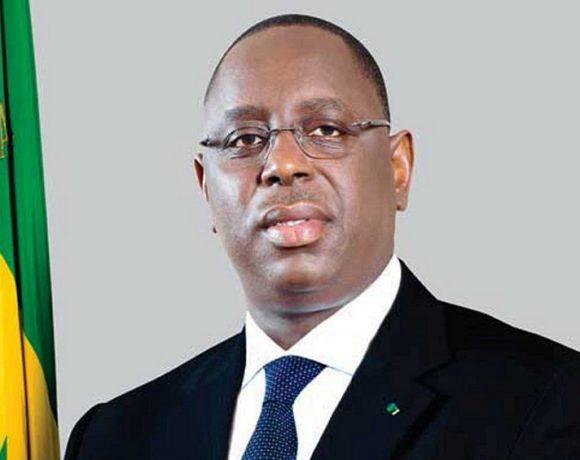 Macky Sall, le président du Sénégal