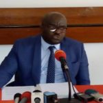 Me Tony Serge Minko Mi Ndong à la Chambre de commerce de Libreville
