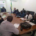 Réunion entre le ministre des transports et le staff de Handling Partner Gabon