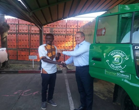 Sobraga fait un don à Recyclage & Collecte