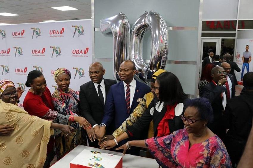 UBA célèbre ses 7 0 ans