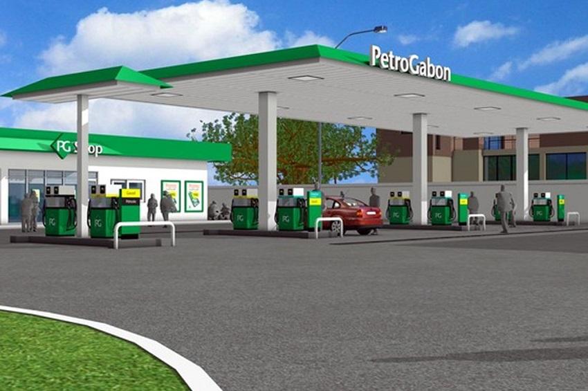 Une station-service Petro Gabon