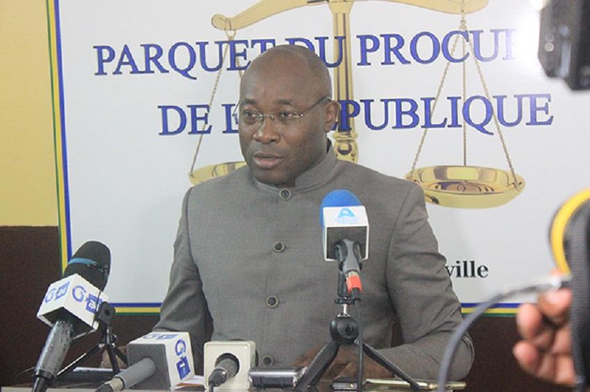 le procureur de la République, Olivier N'zahou