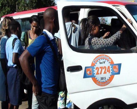 Le taxi à Libreville