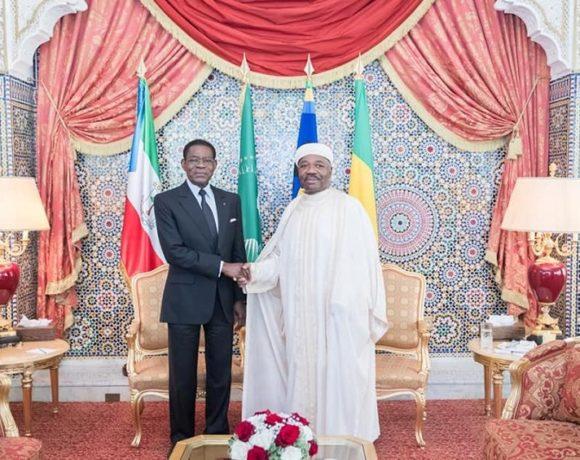 Ali Bongo Ondimba et Teodoro Obiang Nguema