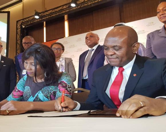 Signature d'un partenariat entre la fondation Tony Elumelu et le PNUD
