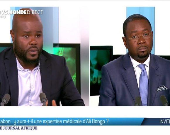 Maîtres Aimery Bongho Mavoungou et Calvin Job sur TV5 Monde