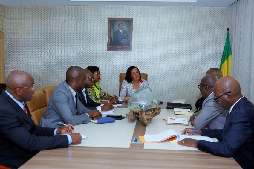 Gabon : Madeleine Berre plaide pour l'ONE auprès de la BAD - INfos Gabon
